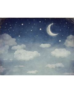 Photography Background in Fabric Enchanted Moonlight  / Backdrop 1833