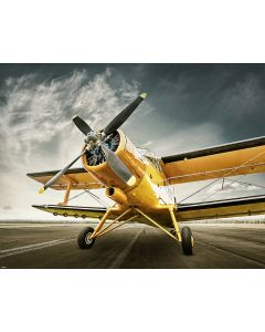 Photography Background in Fabric Airplane/ Backdrop 1835