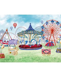 Photography Background in Fabric Carousel / Backdrop 1864