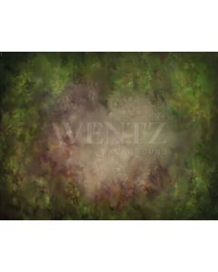 Photography Background in Fabric Fine Art Green Texture/ Backdrop 1879