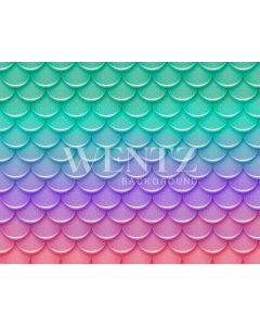 Photography Background in Fabric Summer Mermaid Newborn / Backdrop 1987