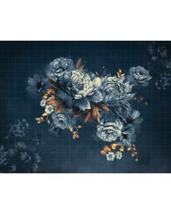 Photography Background in Fabric Flowers Fine Art / Backdrop CW38