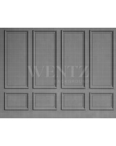 Photography Background in Fabric Boiserie Grey / Backdrop 2101
