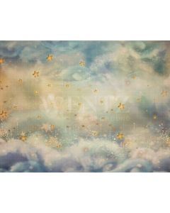 Photography Background in Fabric Star Sky / Backdrop 2084