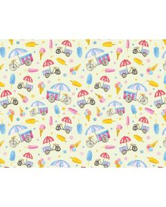 Photography Background in Fabric Ice Cream / Backdrop 1576