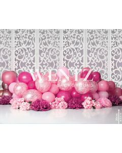 Photography Background in Fabric Scenarios Pink Balloon / Backdrop 2203