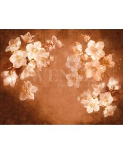 Photography Background in Fabric Flowers Fine Art / Backdrop CW31