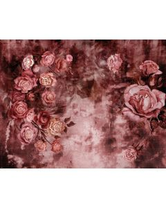 Photography Background in Fabric Flowers Fine Art / Backdrop 1905