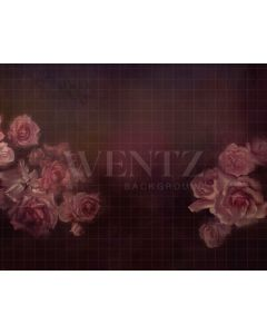 Photography Background in Fabric Flowers Fine Art / Backdrop 1906