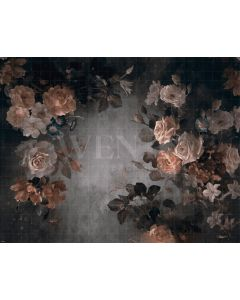 Photography Background in Fabric Flowers Fine Art / Backdrop CW29