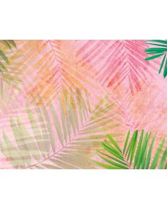Photography Background in Fabric Tropical Summer / Backdrop 1990
