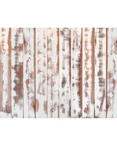 Photography Background in Fabric White and Brown Wood Newborn / Backdrop 2058