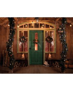 Photography Background in Fabric Christmas Room / Backdrop 1920