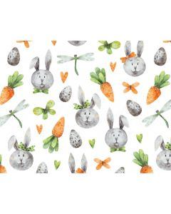 Photography Background in Fabric Easter Bunny Newborn / Backdrop 2016
