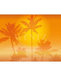 Photography Background in Fabric Tropical Summer / Backdrop 1989