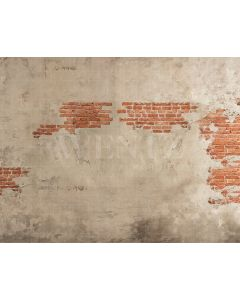 Photography Background in Fabric Concrete and Brick Wall / Backdrop 2110