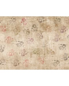 Photography Background in Fabric Painting Hands / Backdrop 2129