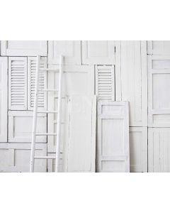 Photography Background in Fabric White Wood / Backdrop 1577