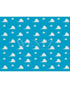 Photography Background in Fabric Clouds / Backdrop 2106