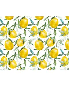 Photography Background in Fabric Summer Lemon / Backdrop 1997