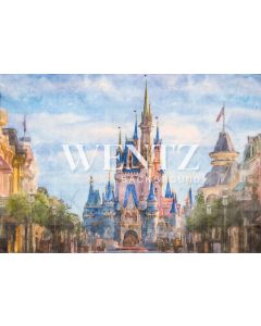 Photography Background in Fabric Castle / Backdrop 2287