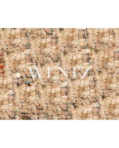 Photography Background in Fabric Beige Brick Floor / Backdrop CW54