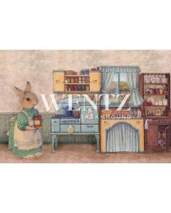 Photography Background in Fabric Easter Kitchen / Backdrop CW62