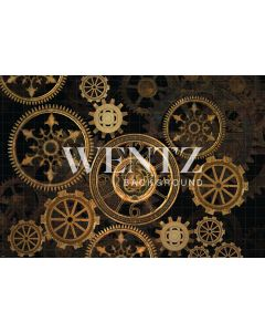 Photography Background in Fabric Gears / Backdrop 2263