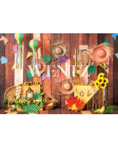 Photography Background in Fabric Country Party / Backdrop 2235