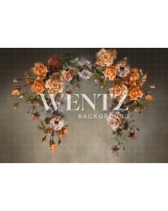 Photography Background in Fabric Flowers Fine Art / Backdrop CW70