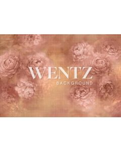 Photography Background in Fabric Flowers Fine Art / Backdrop CW85