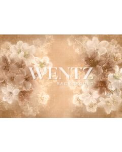 Photography Background in Fabric Flowers Fine Art / Backdrop CW87