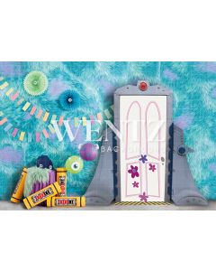 Photography Background in Fabric Monsters / Backdrop 2294