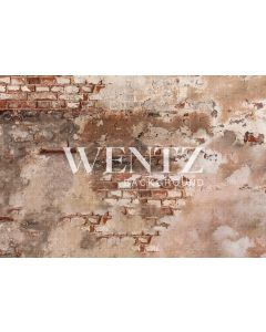 Photography Background in Fabric Brick Wall / Backdrop 2261