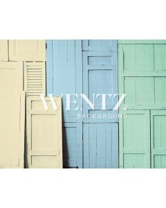 Photography Background in Fabric Colorful Door Newborn / Backdrop 2015