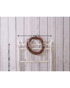 Photography Background in Fabric Bedside Christmas Bed / Backdrop 1607