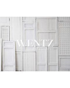 Photography Background in Fabric White Wood / Backdrop 1578