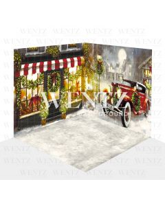 Photography Background in Fabric Christmas Set 3D / WTZ121