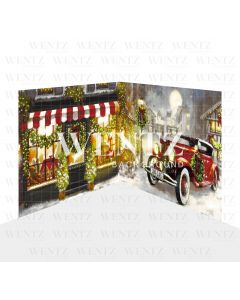Photography Background in Fabric Christmas Set 2D / WTZ127