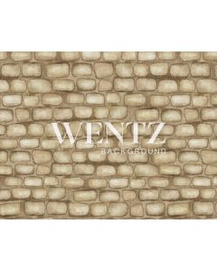 Photography Background in Fabric Brown Bricks Newborn / Backdrop 1978