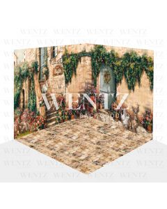 Photography Background in Fabric Easter Scenario 3D / WTZ114