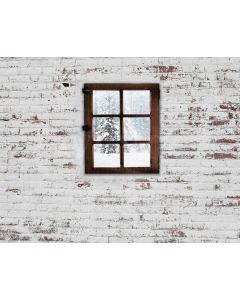 Photography Background in Fabric Wall and Window Newborn / Backdrop 1975