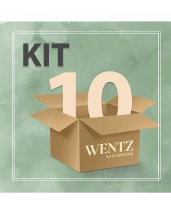 Package with 10 Backgrounds Wentz