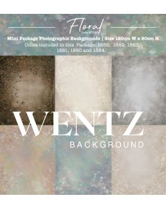 Mini Package Fine Art Floral Photographic Backgrounds Wentz | WTZ206