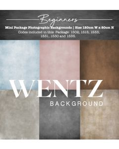 Mini Package Beginners Photographic Backgrounds Wentz | WTZ204