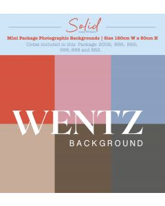 Mini Package Solid Photographic Backgrounds Wentz | WTZ207
