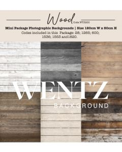 Mini Package Wood Photographic Backgrounds Wentz | WTZ200