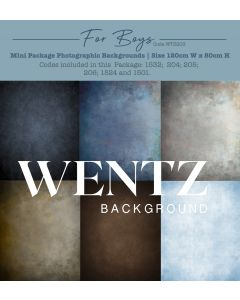 Mini Package For Boys Photographic Backgrounds Wentz | WTZ203