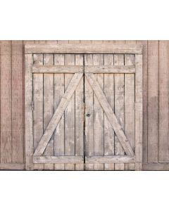 Photography Background in Fabric  Wood Door / Backdrop 1579