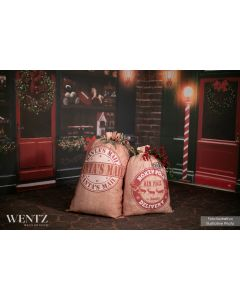 Decorative Christmas Bag With String / WTZ400